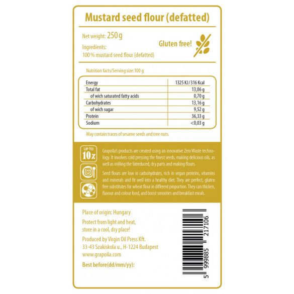 Mustármagliszt 250 g