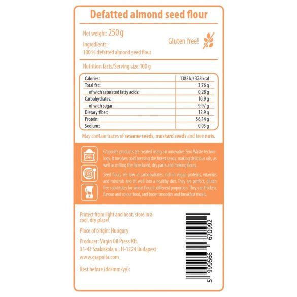 Farine d'amande - dégraissée 250 g