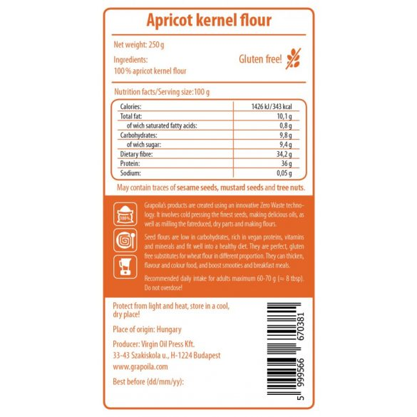 Apricot Kernel Flour 250 g