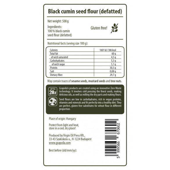 Black Cumin Seed Flour 500 g