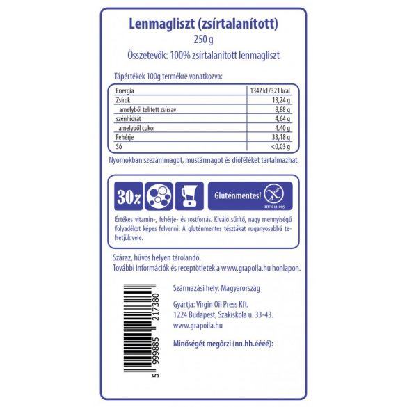 Linseed flour 250 g