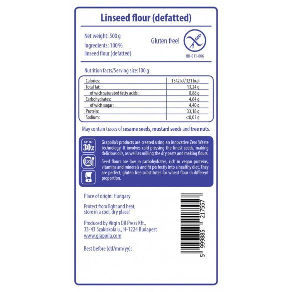 Linseed flour 500 g