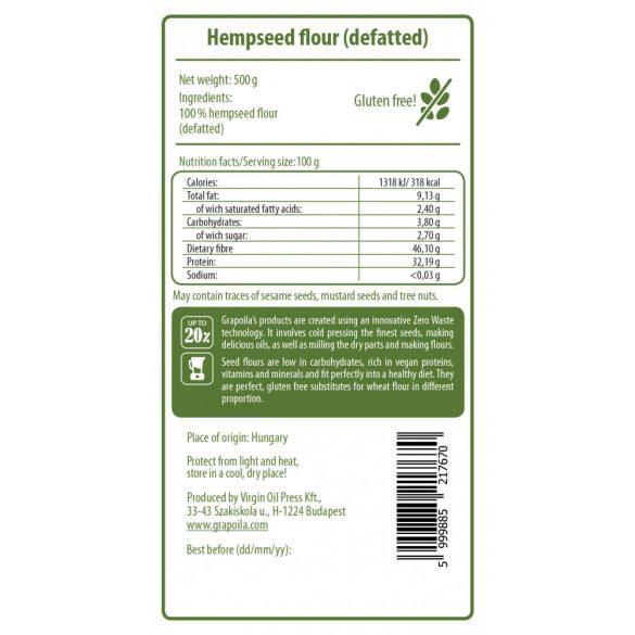Hempseed flour 500 g