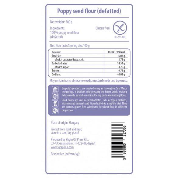 Poppy seed flour 500 g