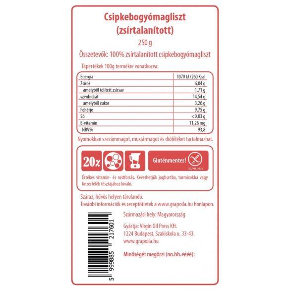Hagebutten-Kernmehl 250 g