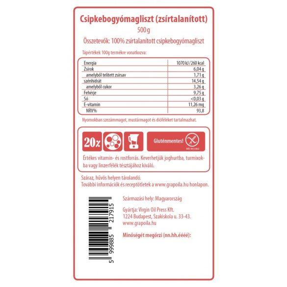 Hagebutten-Kernmehl 500 g