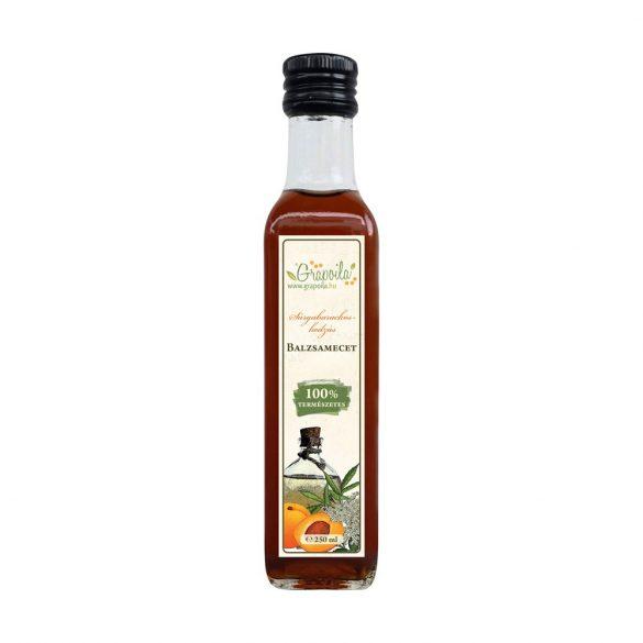Sárgabarackos-bodzás balzsamecet 250 ml