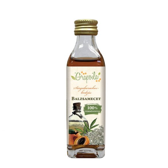 Balsamic vinegar with apricot and elderberry 40 ml