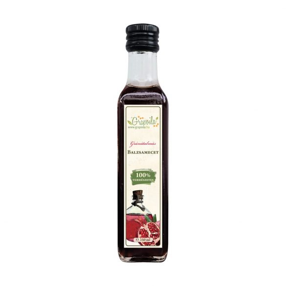 Balsamic vinegar with pomegranate