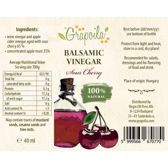 Vinaigre balsamique cerise 40 ml
