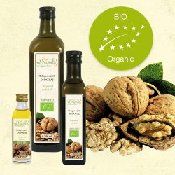 Walnut Oil ORGANIC - in different size variants