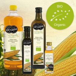 Kukoricacsíra-olaj BIO - többféle kiszerelésben