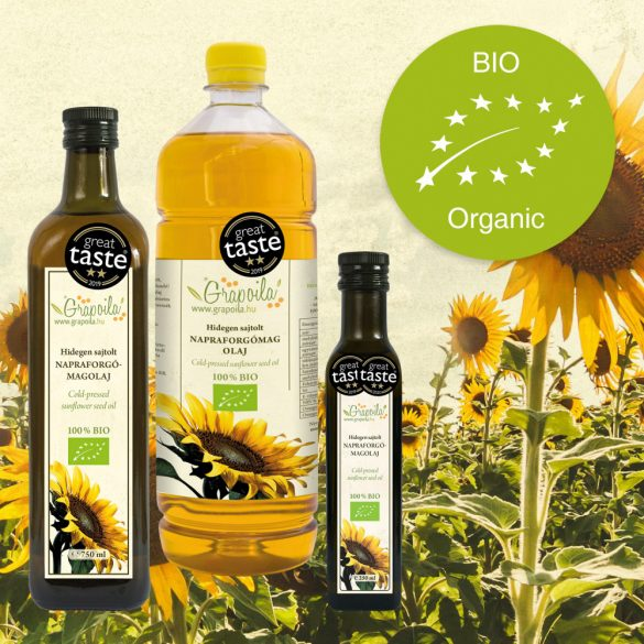 Sunflower Seed Oil ORGANIC - in different size variants