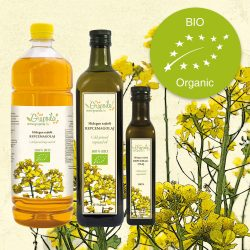 Rapeseed oil ORGANIC - in different size variants