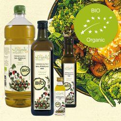 Salátaolaj BIO - többféle kiszerelésben
