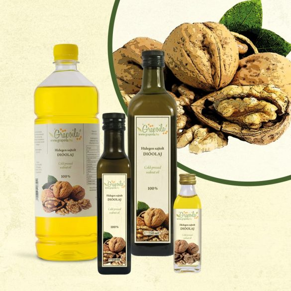 Walnut Oil - in different size variants