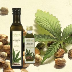 Hemp Seed Oil - in different size variants