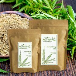 Farine de graines de chanvre - en plusieurs emballages