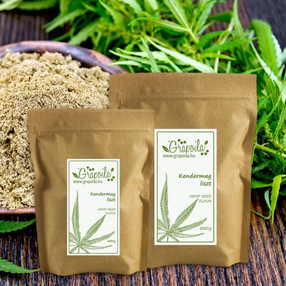 Hempseed flour - in different size variants