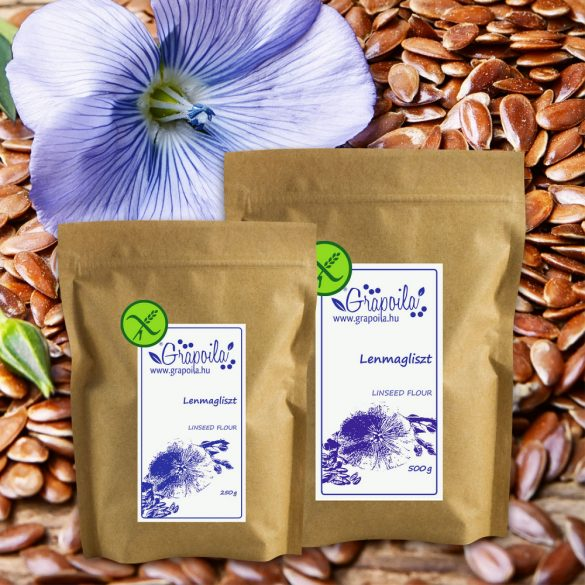 Linseed flour - in different size variants