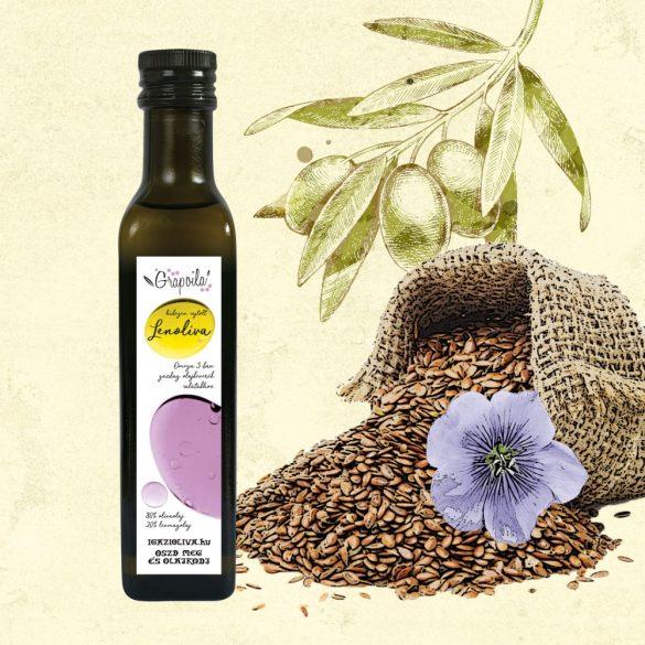 Mélange d'huile de lin et d'olive - en plusieurs emballages