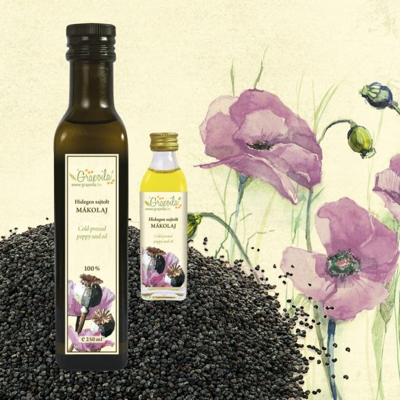Poppy Seed Oil - in different size variants