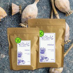 Farine de graines de pavot - en plusieurs emballages