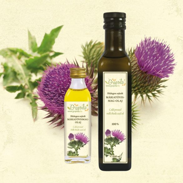 Milk Thistle Seed Oil - in different size variants