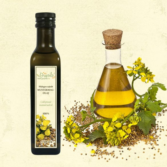 Mustard Seed Oil - in different size variants