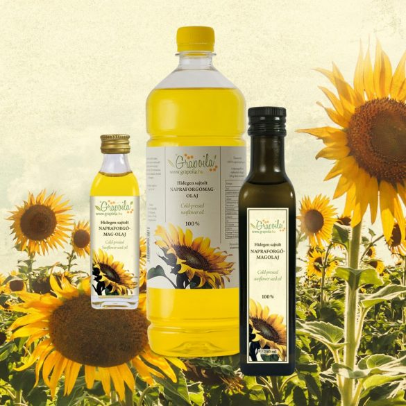 Sunflower Seed Oil - in different size variants