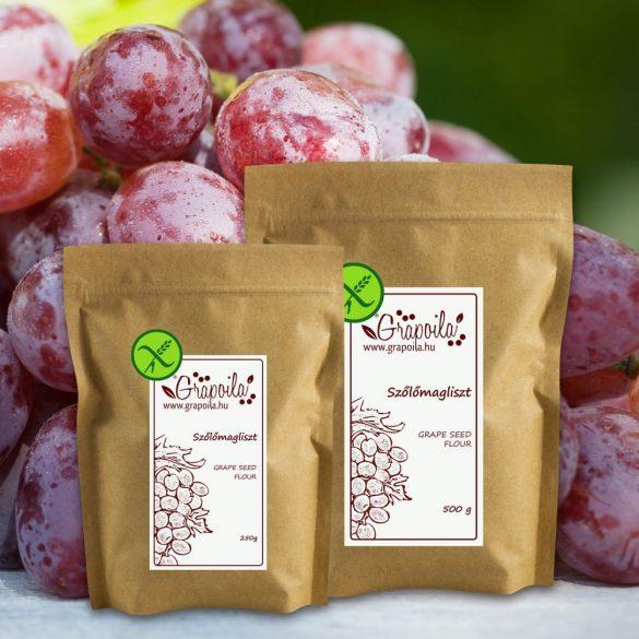 Farine de pépins de raisin rouge - en plusieurs emballages