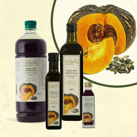 Pumpkin Seed Oil - in different size variants